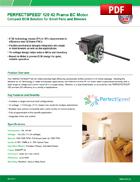 PERFECTSPEED® 120 42 Frame EC Motor