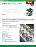 ECOAPEX™ 56 EC Condenser Fan Motor
