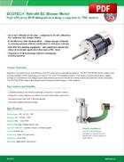 ECOTECH® Retrofit EC Blower Motor